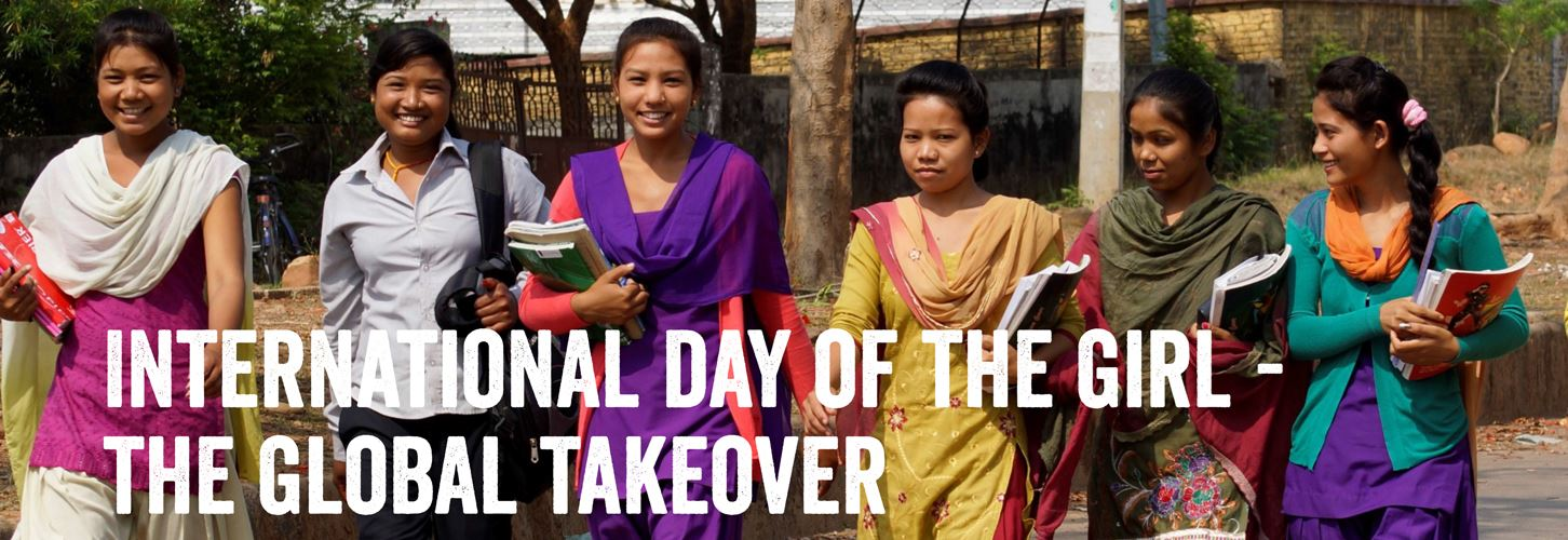 international day of the girl - global takeover