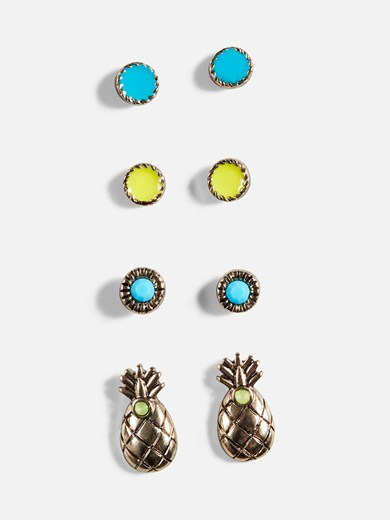 Pinapple earrings